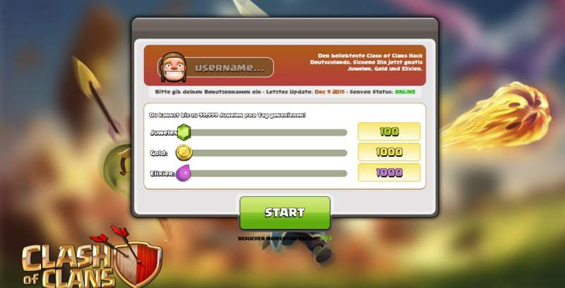 Clash of Clans Hack Cheats