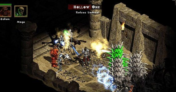 Diablo 2 Download Scene