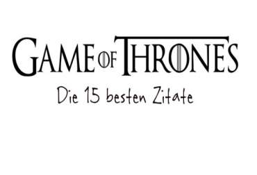 De 15 beste Game of Thrones Quotes