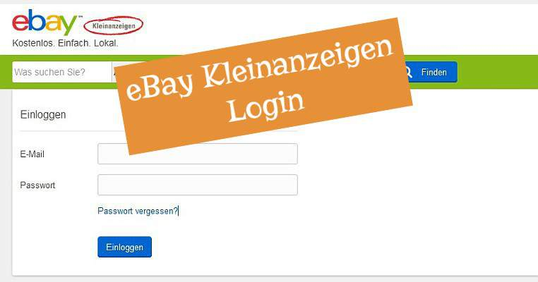 Ebay Classifieds Login Here S A Box