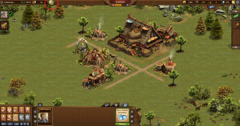 Forge do local de edifício Empires Cheats