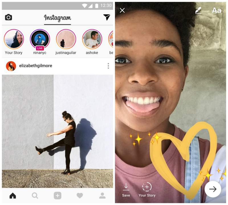 Instagram for Android for all situations