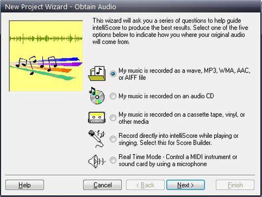 Intelliscore Polyphonic MP3 to MIDI Converter Download