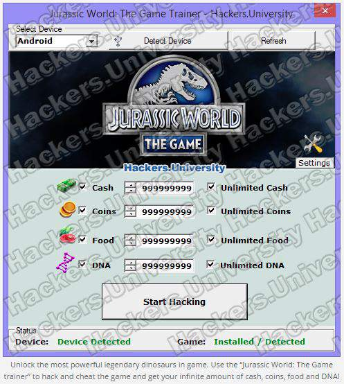 jurassic world cheats and tips for fast leveling
