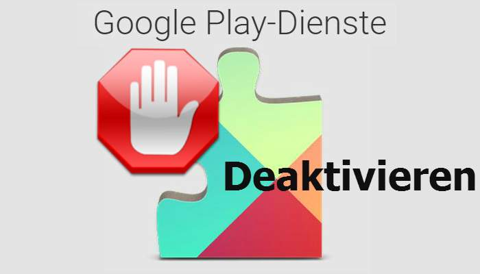 Disable Google Play services