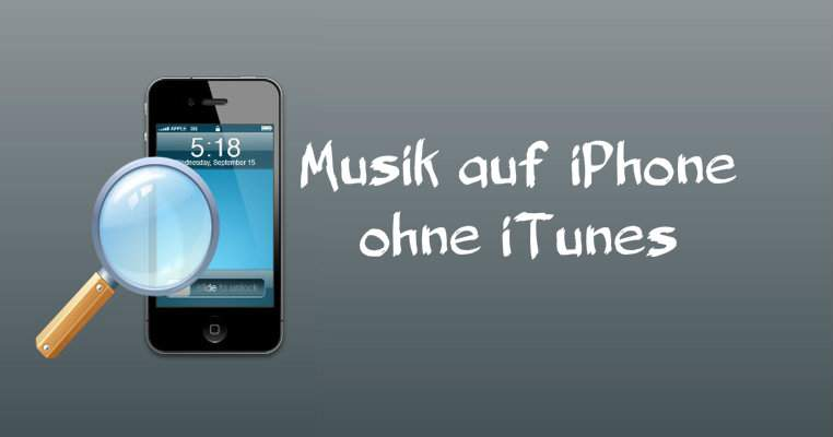 Musica per iPhone senza iTunes