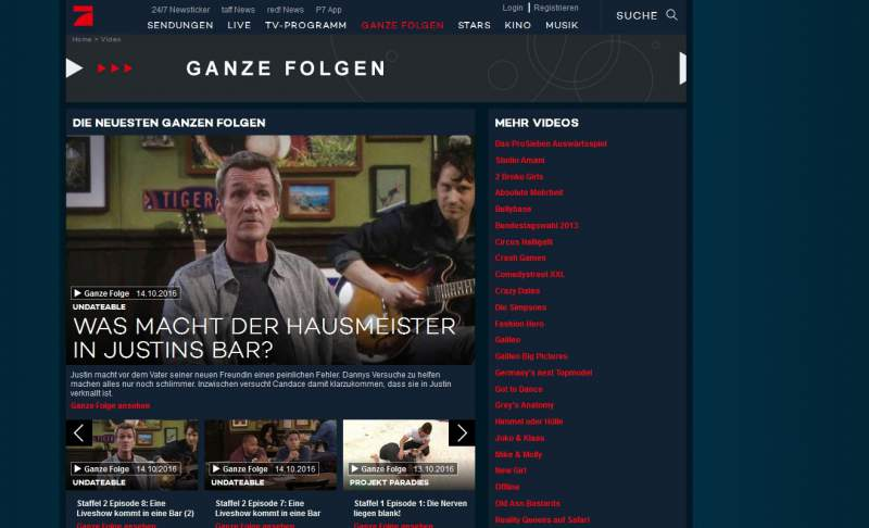 ProSieben Media Library Download