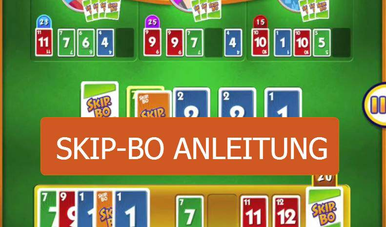 Skip Bo Instructions How The Card Game App