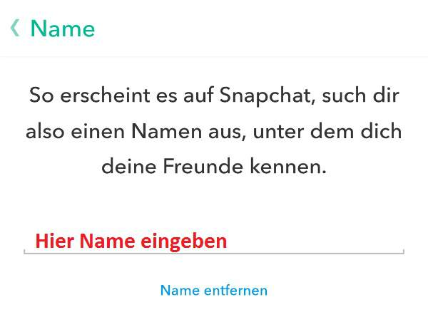 how to change snapchat name