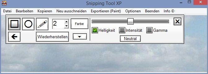 strumento di cattura xp