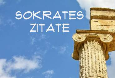 Ingenious Socrates quotes for WhatsApp, Facebook & amp; Co.