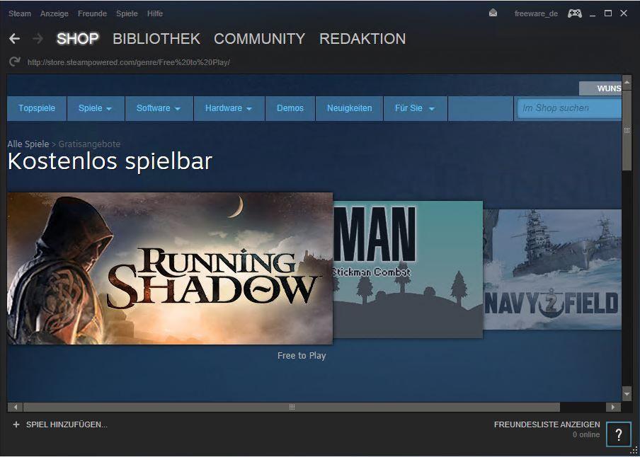 Steam Namen