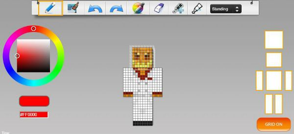 With An Editor Instantly Create A Minecraft Skin - Minecraft skin fur pc erstellen