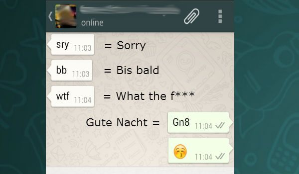 Whatsapp Abkürzung