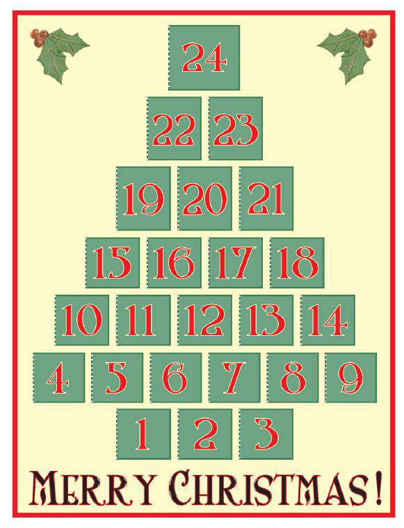 Christmas Calendar Download