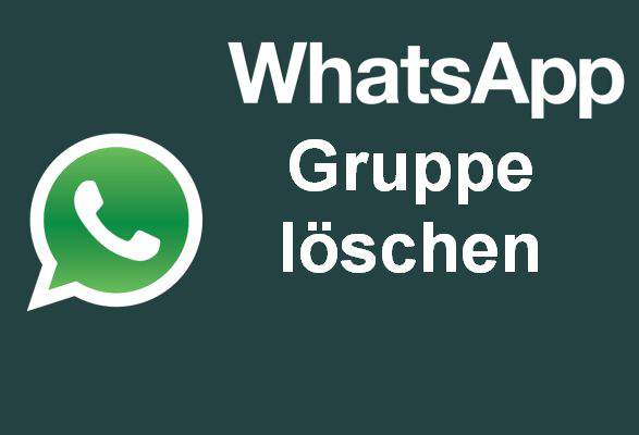 Delete WhatsApp group