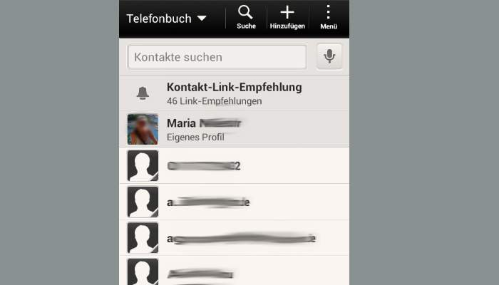 WhatsApp contacts hide phonebook