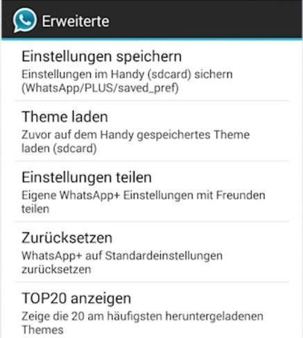 WhatsApp Plus Download Themes
