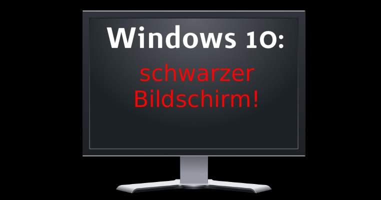 Windows écran noir que faire