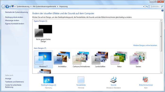 Windows 7 Download Visual Effects