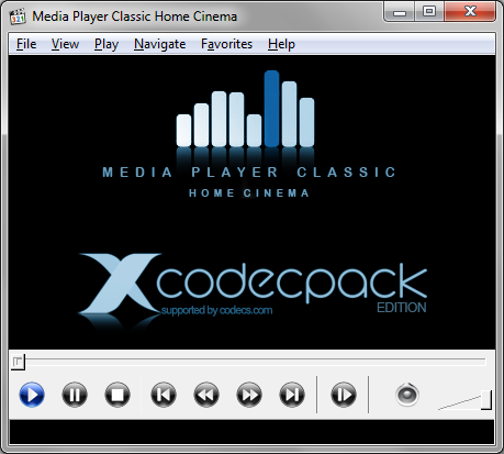 X Codec Pack Download Media Player Classic