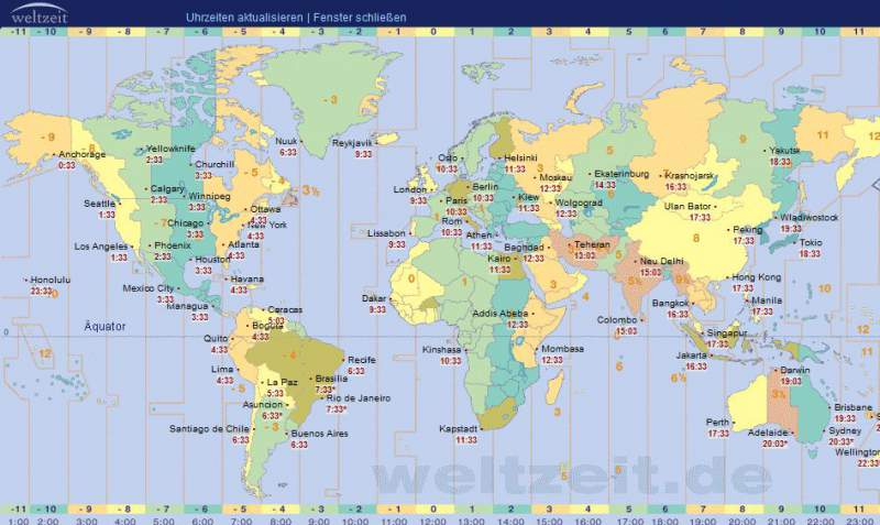 World Clock download time zones