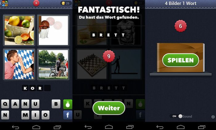 4 pictures 1 word app solution