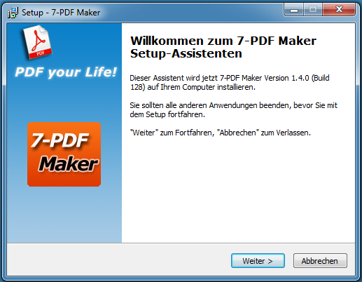 7-PDF Maker Download