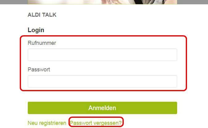 Aldi Talk Sim Kartennummer.Aldi Talk Login To Work Out The Online Registration
