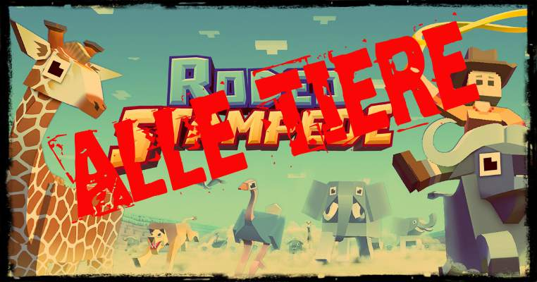 Rodeo Stampede animals