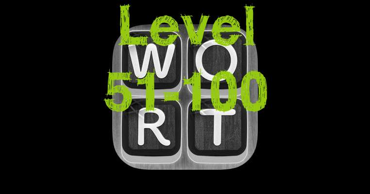 Word goeroe Solutions Level 51-100