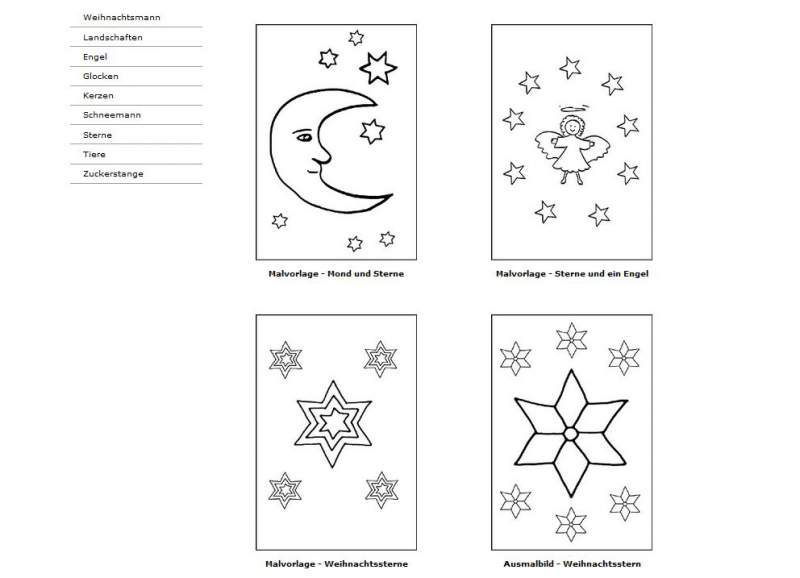 Coloring Christmas Download star
