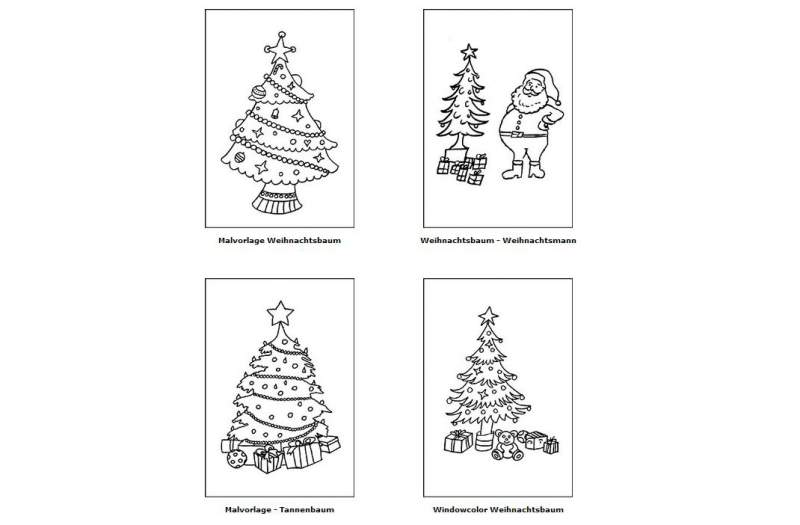 Coloring Christmas Download Christmas Tree