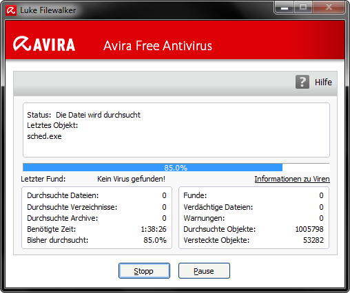 Avira Free Antivirus Download Luke Filewalker