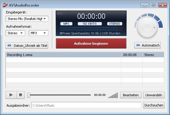 AVS Audio Recorder Download