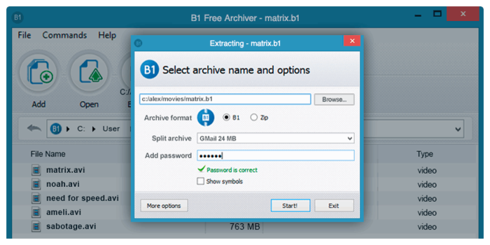 B1 Gratis Archiver Download