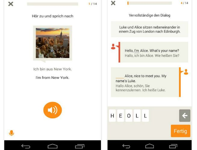 Babbel App de audio