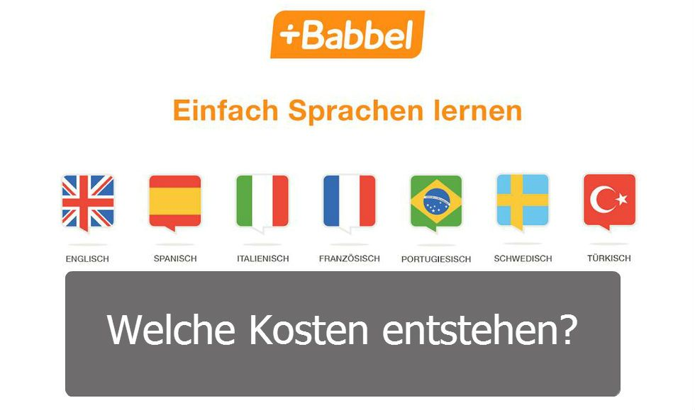 Babbel costs