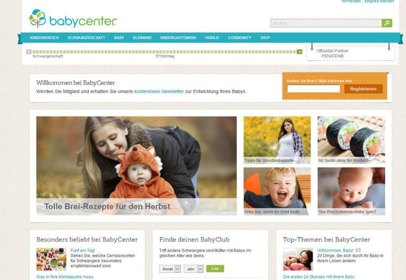 babycenter.de download