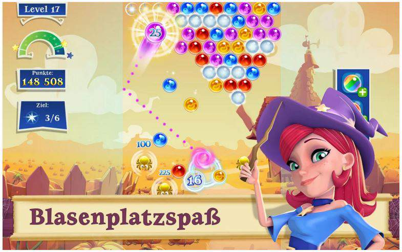 Bubble Witch Saga 2 App