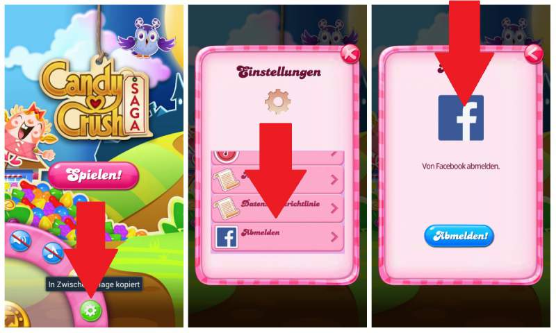 Candy Crush sin registro jugando Facebook