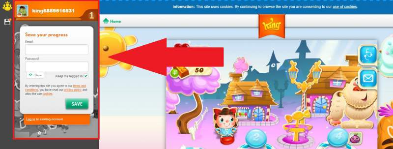 Candy Crush juego sin registro