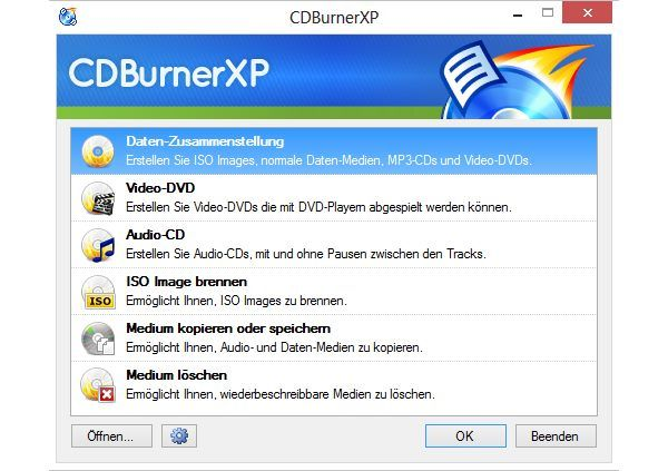 CDBurnerXP download