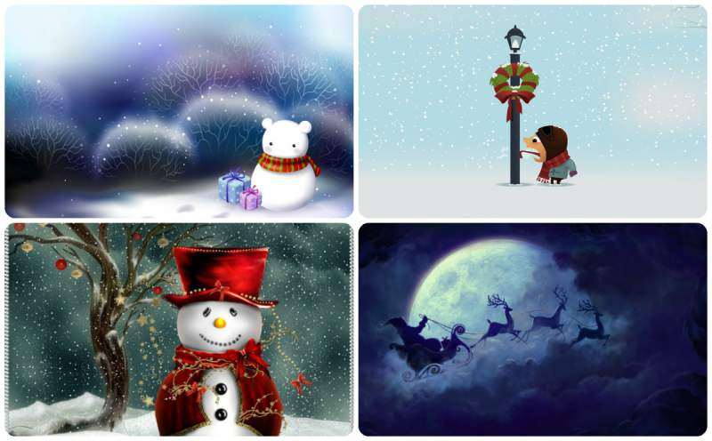 Kerst Wallpaper Download