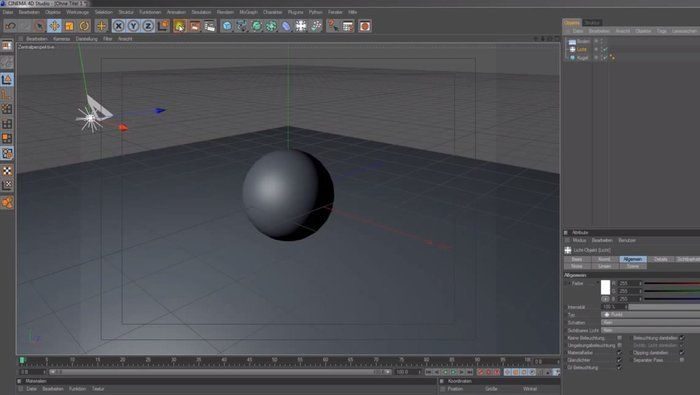 Cinema 4D Student Edition