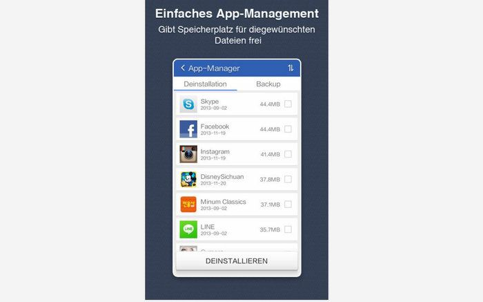 Clean Master Android App Management