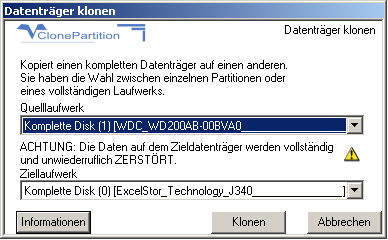 Clone Partition download