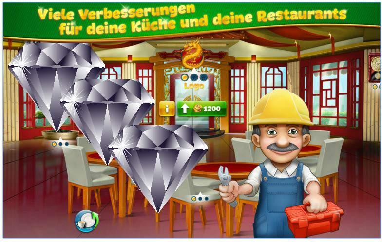 Cooking Fever Diamanten