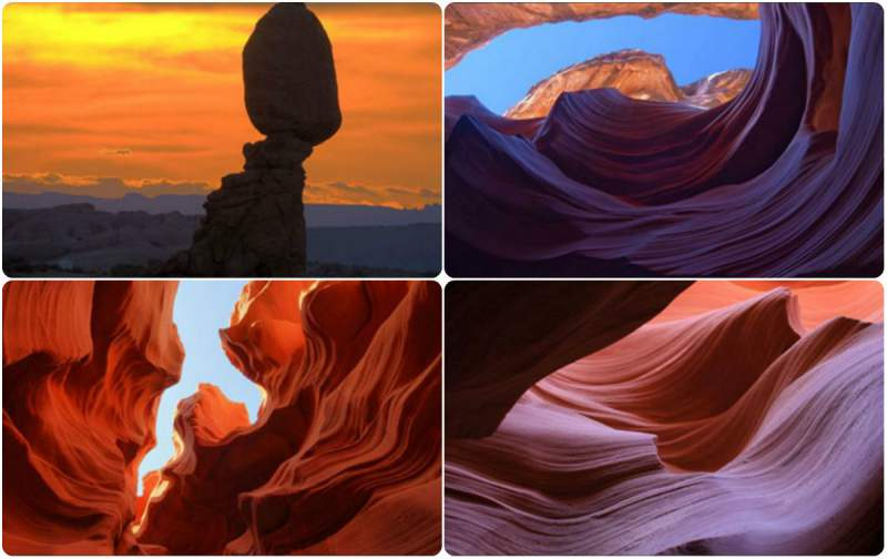 Change Windows 10 style sandstone formations
