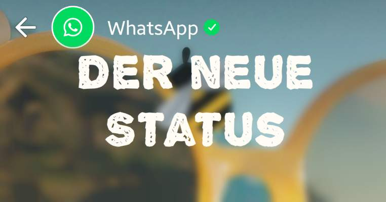 The New Whatsapp Status Images à La Snapchat